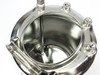 """Apache Stainless Portable Pressure Vessel Large Mouth 1/4"""" FNPT 4 Gal (90-4)"""