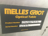 """Melles Griot 59"""" x 29.5"""" Optical Table Anti Vibration Breadboard with Legs"""