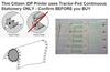 CBM Citizen Tractor Feed Receipt Printer 25-Pin Serial Port Dot Matrix (iDP3530)