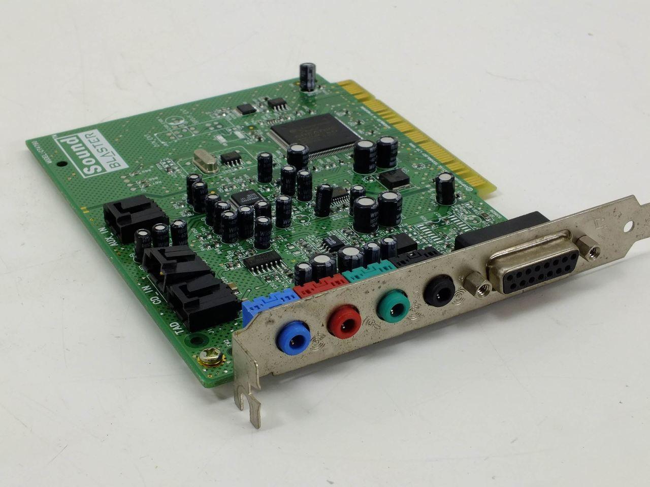 Creative Labs Sound Blaster Live PCI 16 Bit Card CT4790