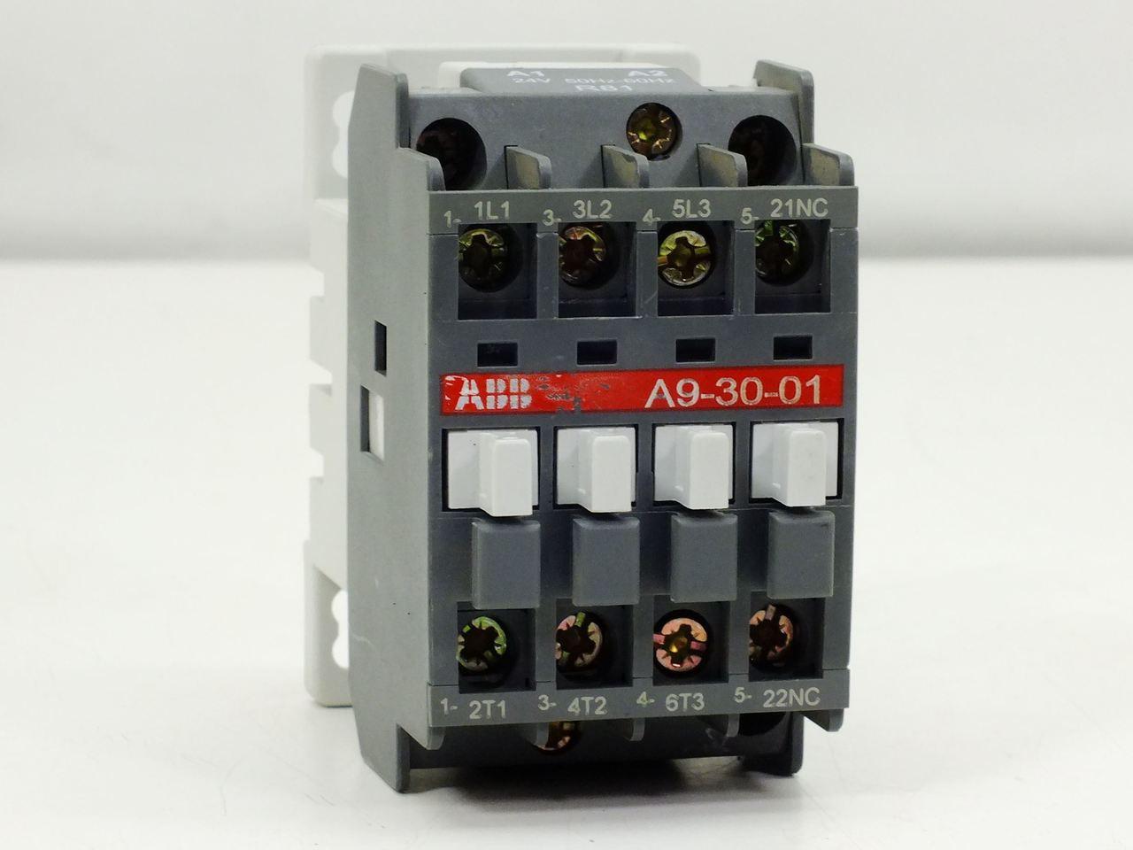 Abb A9 30 01 Contactor Relay 4 Pole 220 230v 50hz 230 240v 60hz 24 Under Current Volt