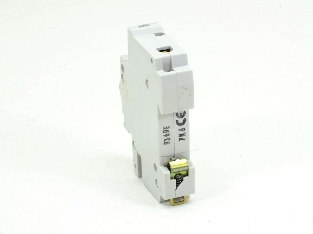 Abb S271 K6a Circuit Breaker 6amp 1pole 277 480vac
