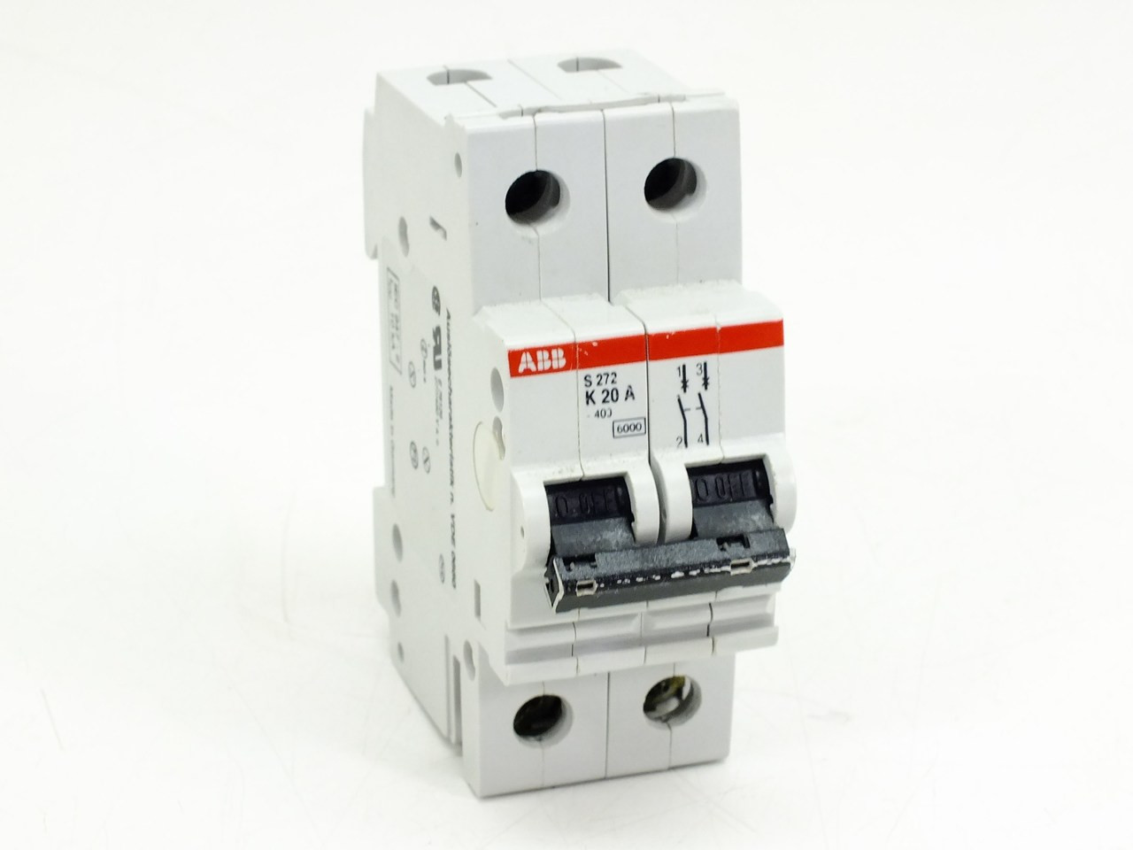Abb S272 K20a Circuit Breaker 20amp 2pole 277 480vac