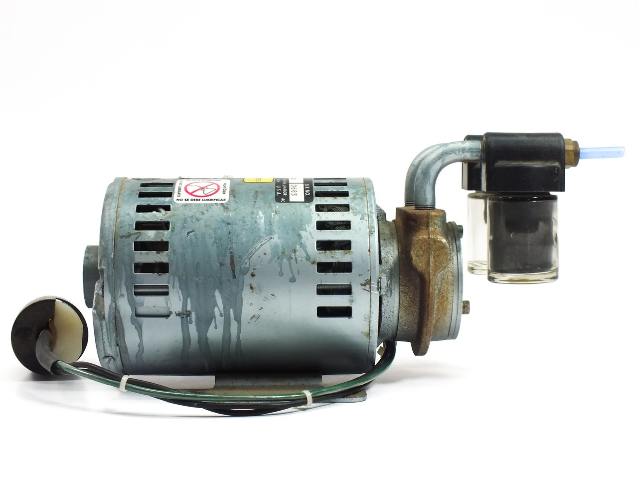 Gast Vacuum Pumps Wiring Diagram Schematic Diagrams 1531 107b G288x 1 10 Hp Rotary Vane Pump Recycledgoods Com Trouble Shooting