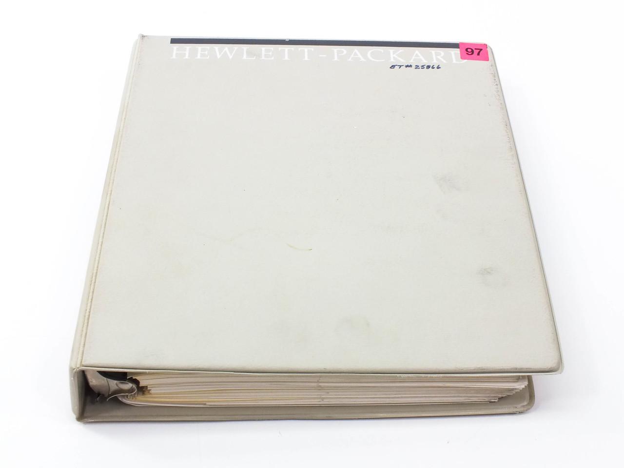 Hp 3325b Synthesizer Function Generator Operating Manual