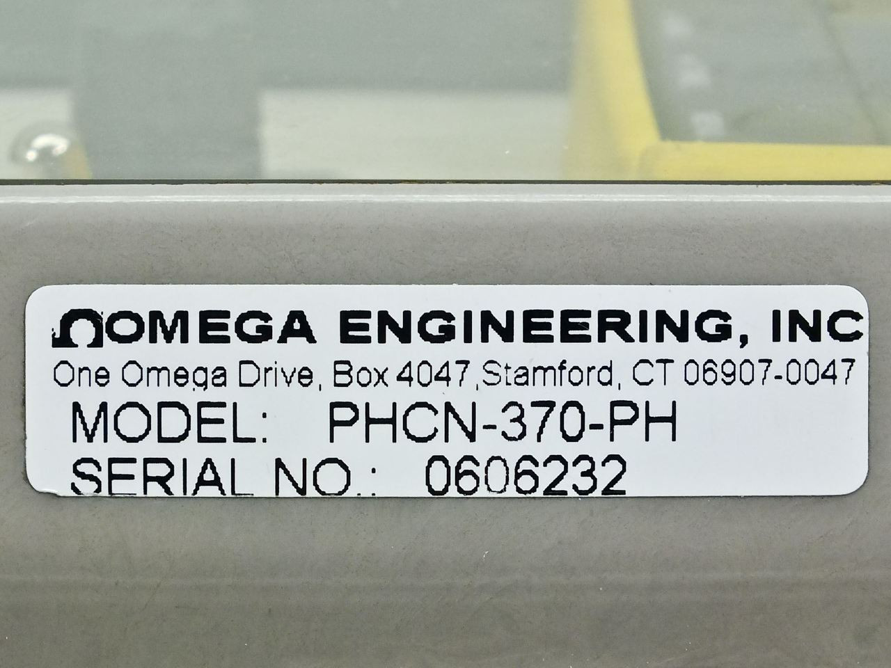 Omega Engineering Phcn 370 Ph Industrial Wall Mount