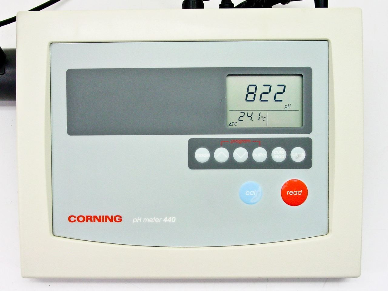 476436; Corning 440 PH Meter with 3 in 1 Combo Electrode Cat No.