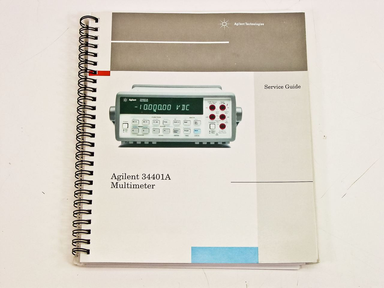 agilent 34401a service guide edition 5 recycledgoods com rh recycledgoods com agilent 34401a service manual Agilent 33220A