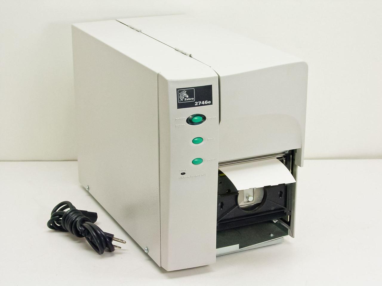 zebra 274e 10411 0010 2746e label printer recycledgoods com rh recycledgoods com Zebra 2746E Driver Window 7 zebra 2746e service manual