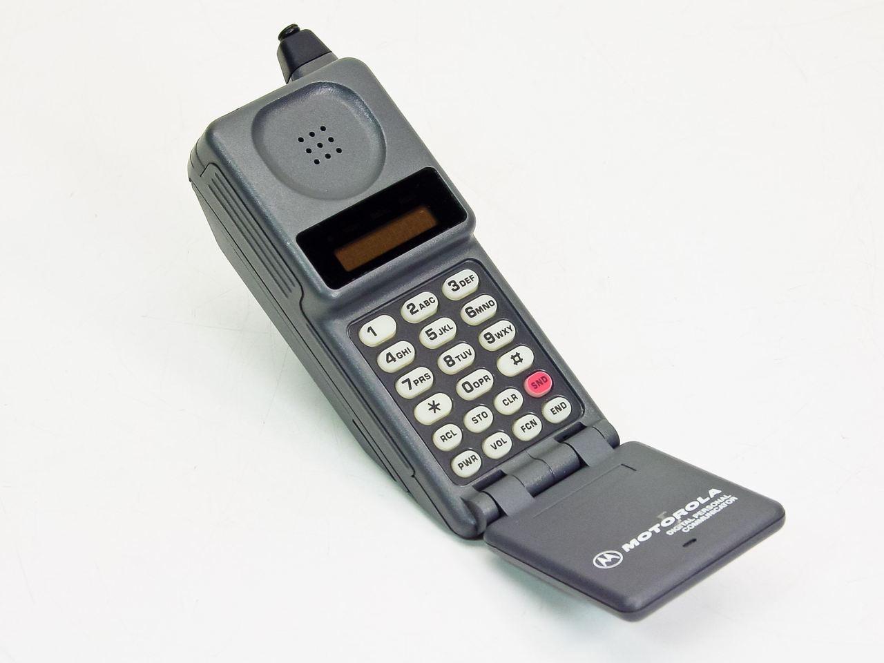 "Motorola F09HLD8415 Vintage 90's Cell Phone ""Flip Phone"" DPC550 Series *AS-IS*  RecycledGoods.com"
