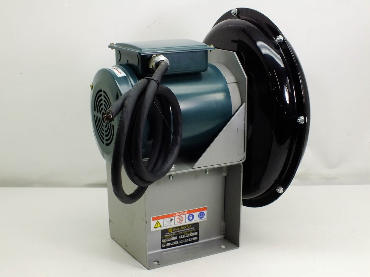 Cincinnati Fan Spb906t3 Centrifugal Blower Fan 4 Quot Port 1 3