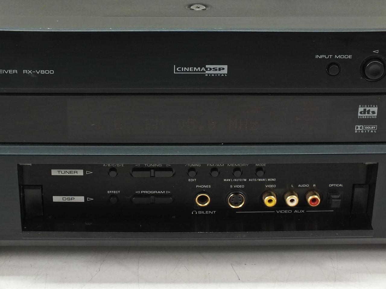 yamaha rx v800 natural sound av receiver. Black Bedroom Furniture Sets. Home Design Ideas