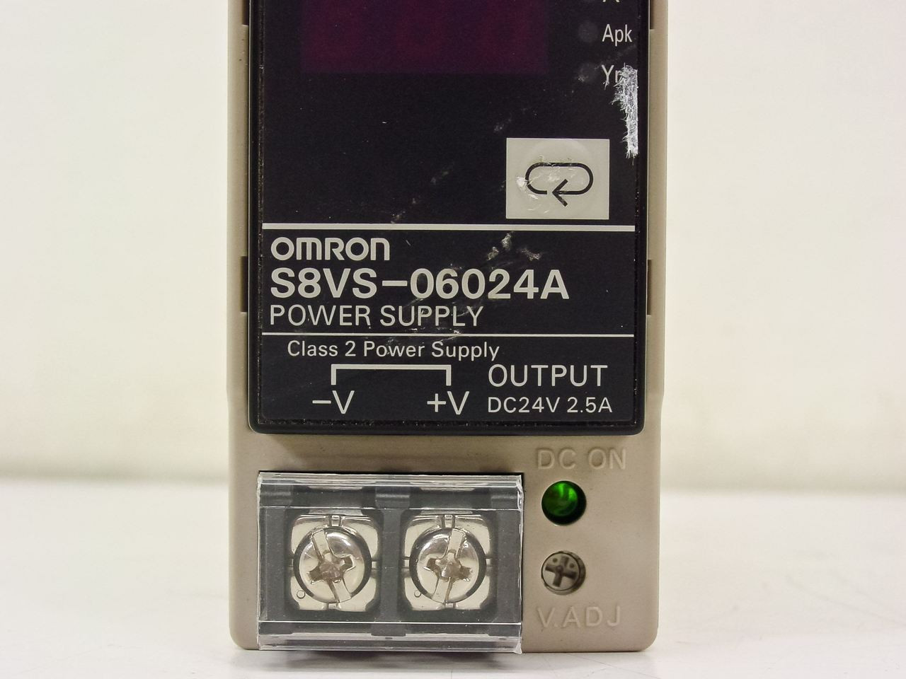 Omron S8vs 06024a Switch Mode Power Supply With Indication Monitor Dc