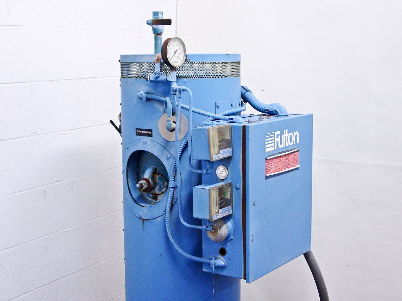 Fulton FB-050-L 50kW Electric Steam Boiler 480 Volt 3 Phase ...