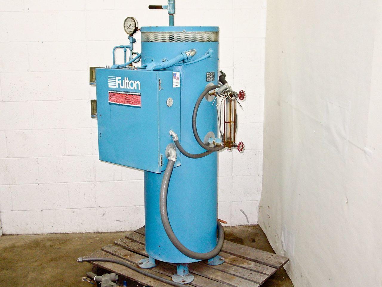 Fulton Fb 050 L 50kw Electric Steam Boiler 480 Volt 3