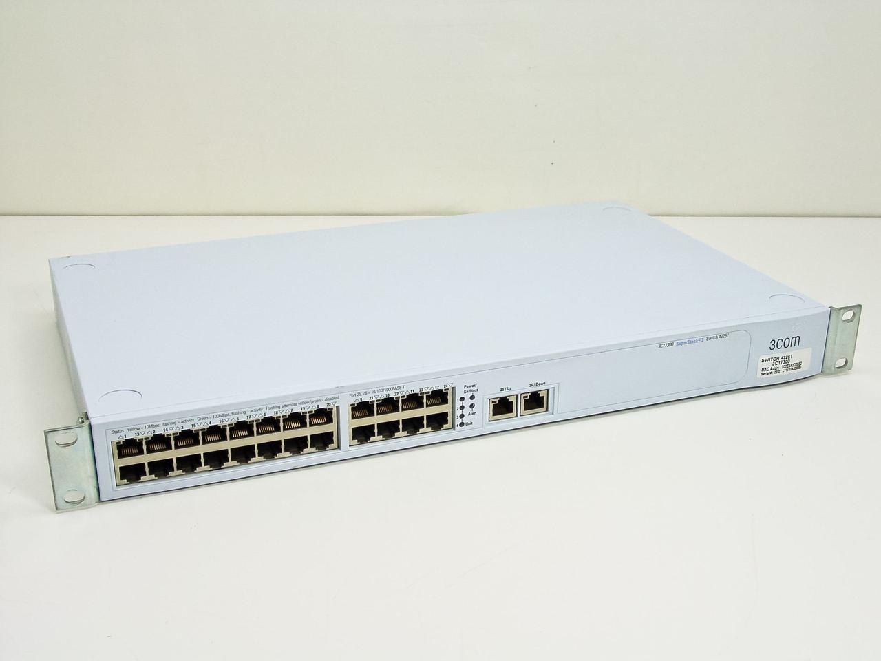 3com 3c17300 superstack 3 switch 4226t 24 port recycledgoods com rh recycledgoods com