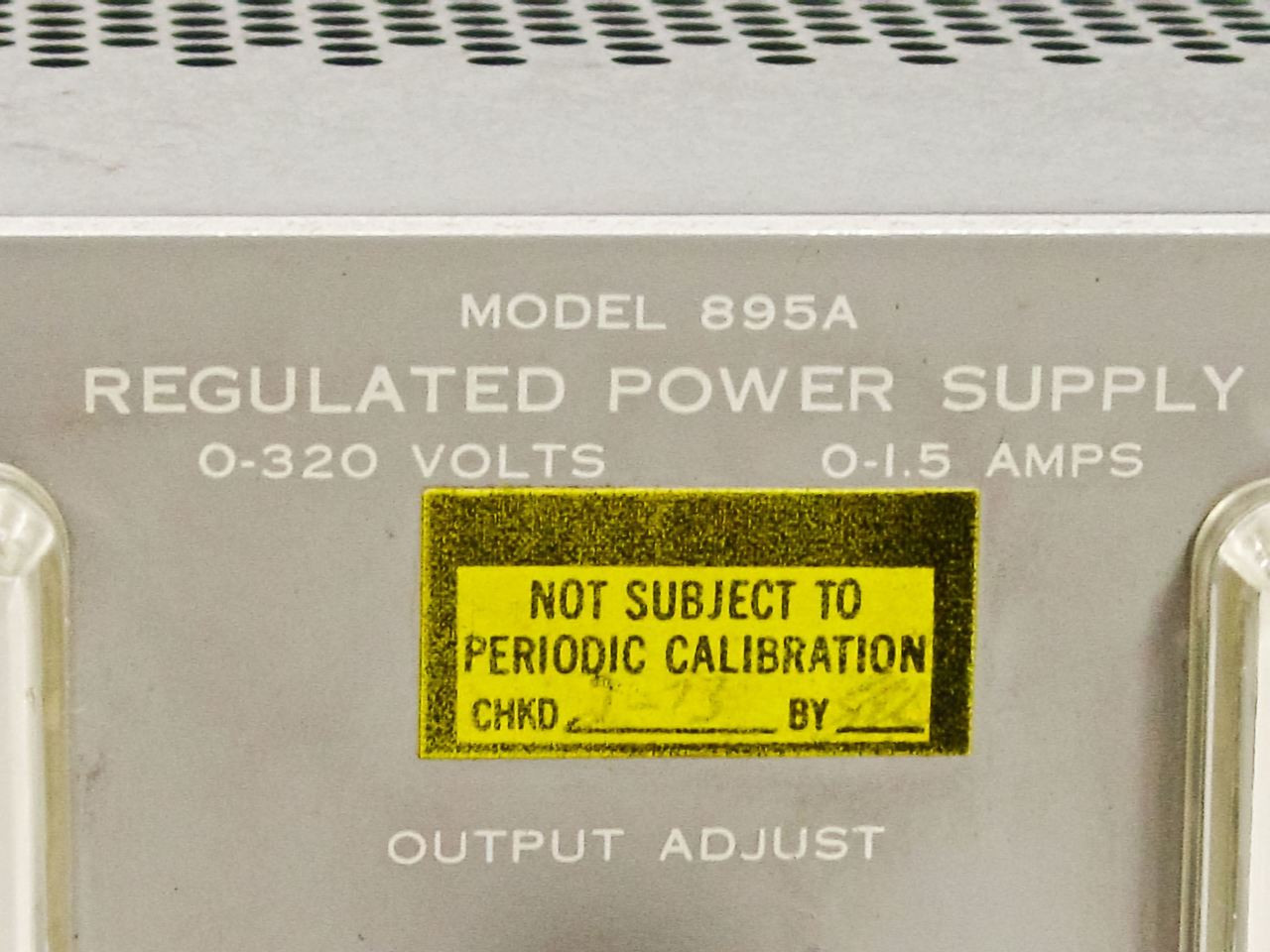 Harrison Laboratories 895a Variable Power Supply 0 320 Volts 15 Amps