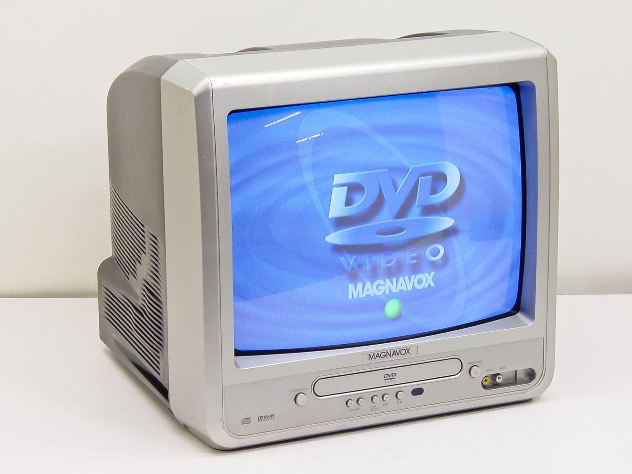 "Magnavox MWC13D6 14"" TV w/ DVD Player ..."