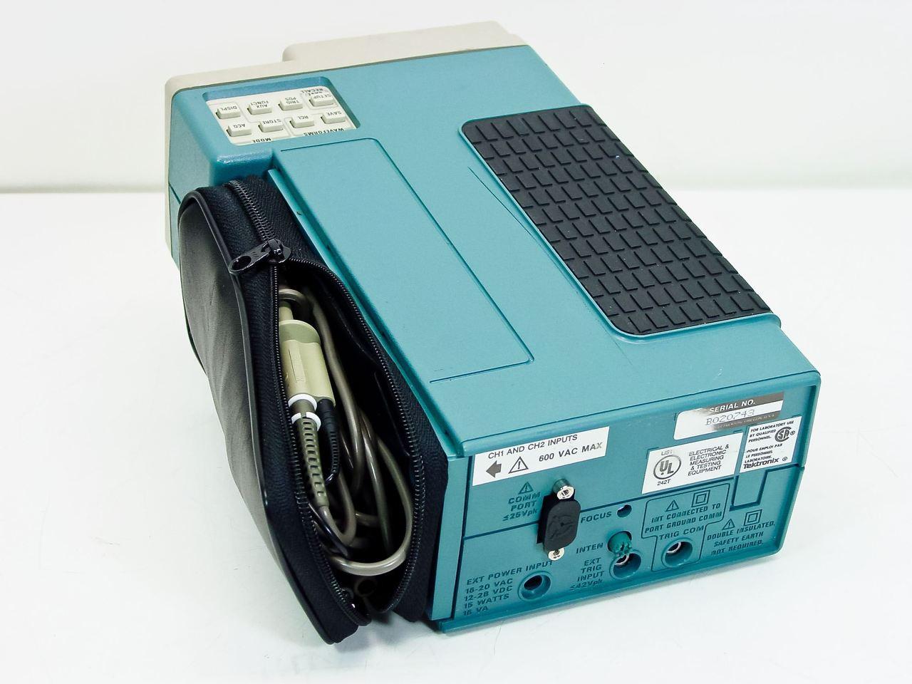 tektronix 224 60mhz digital storage oscilloscope handheld rh recycledgoods com tektronix tds 224 user manual tektronix 2224 manual