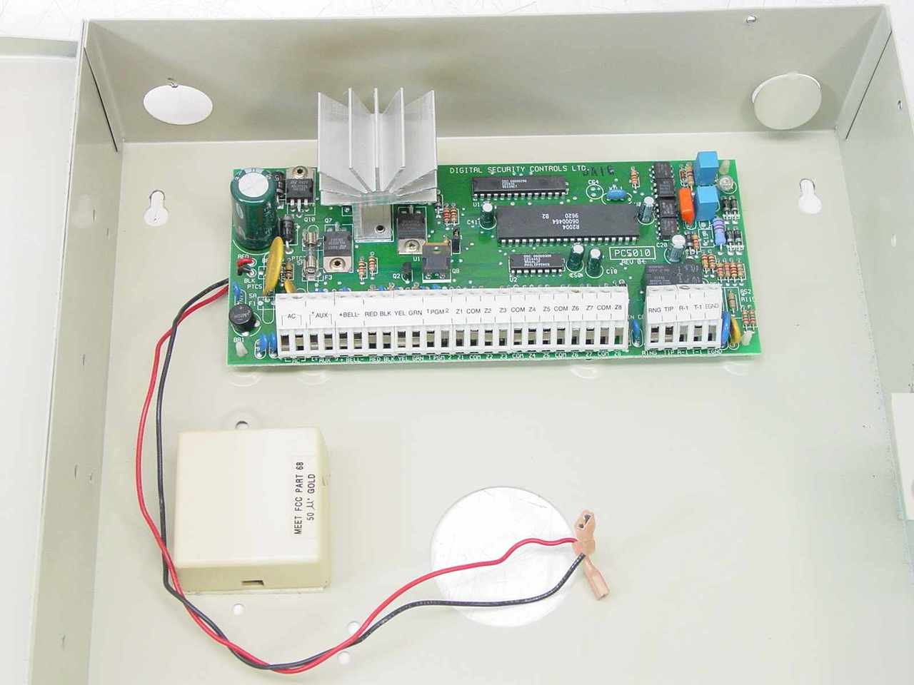 ... DSC PC5010 Power 832 Security System Cabinet ...