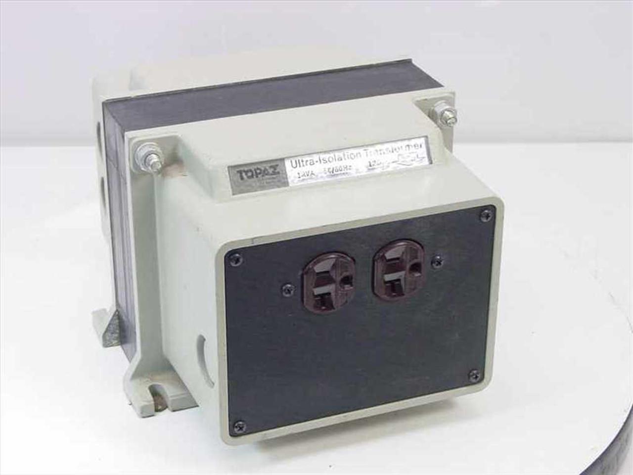 Topaz Electronics 91001 12 Ultra Isolation Transformer Noise Suppressor