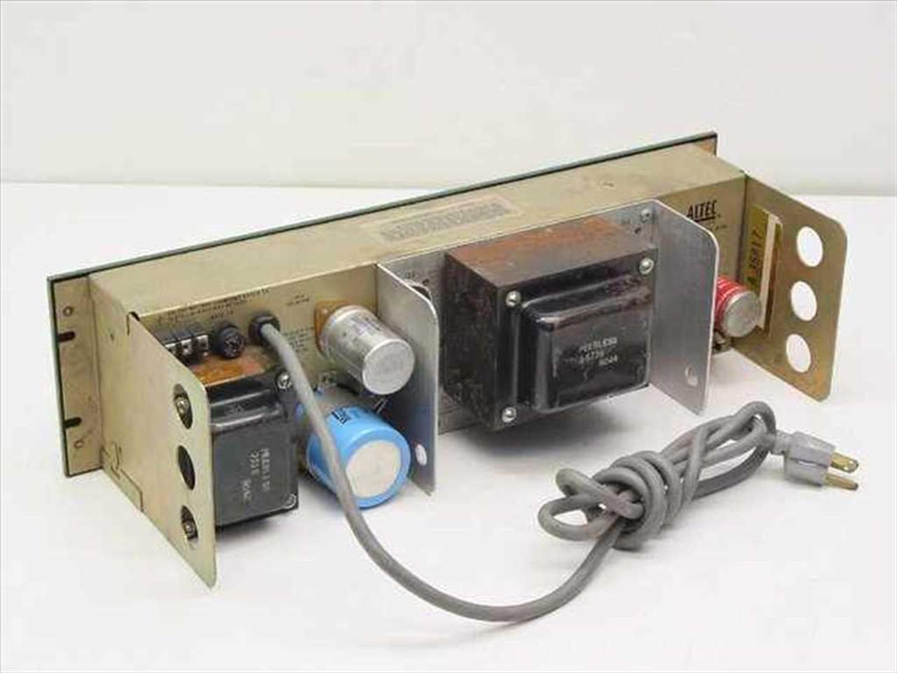 Altec Lansing 1593b 50 Watt Power Amplifier