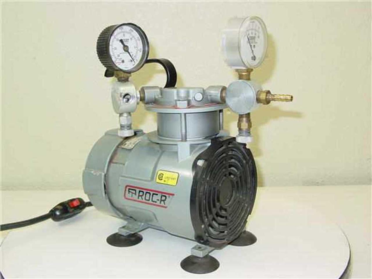 Gast Roa P131 Aa Oiless Lab Vacuum Pump Air Compressor Oilless Wire Diagram