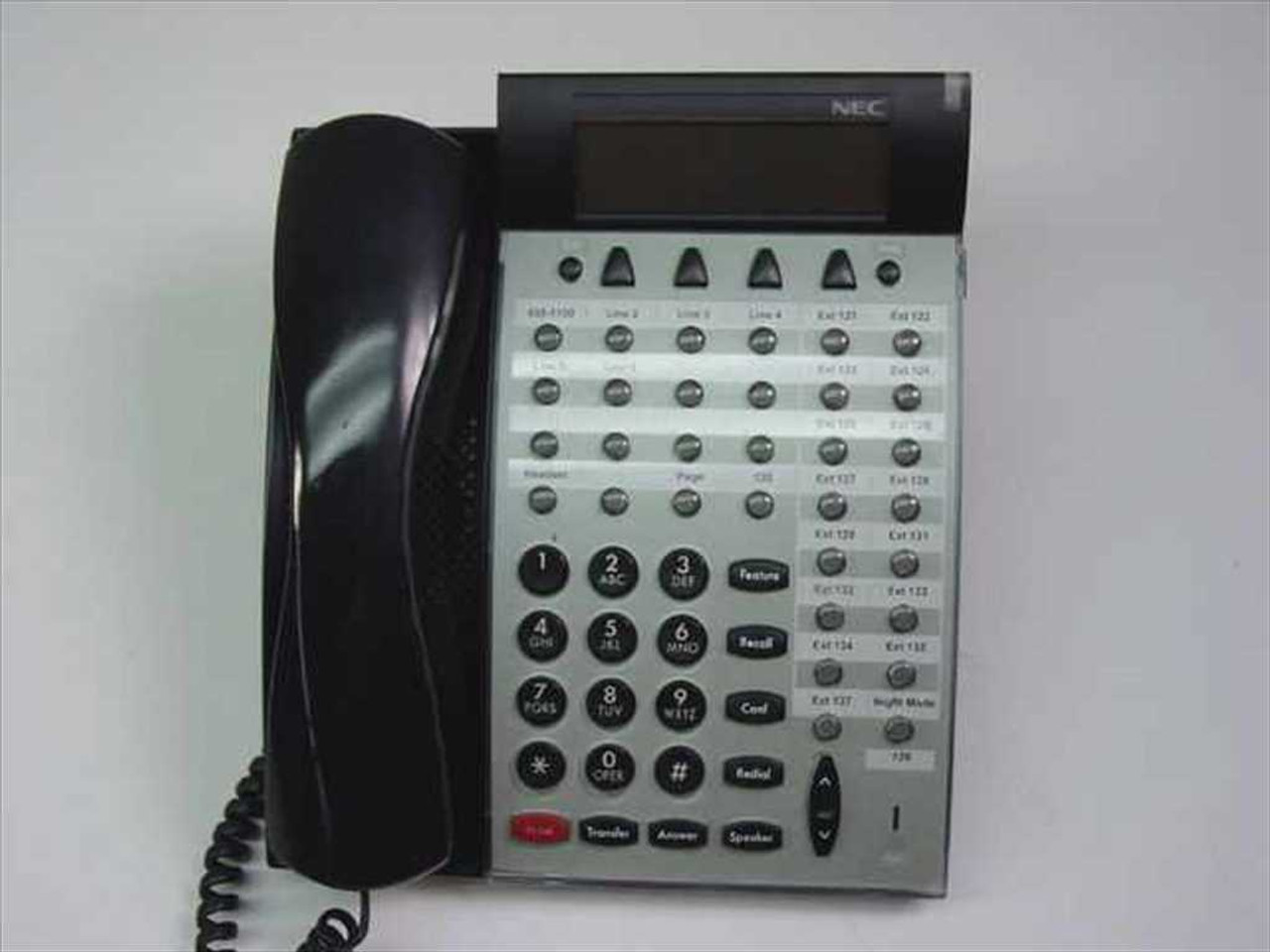 ... NEC DTU-32D-2 Office Phone Black w/LCD ...
