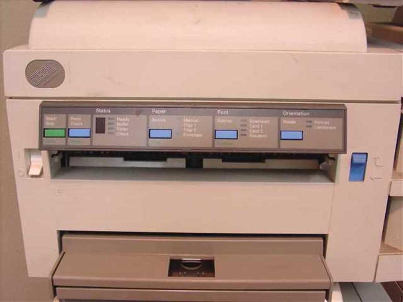 ... IBM 4029-020/4019-E01/4019 Lexmark Laser Printer 6 - Parts ...