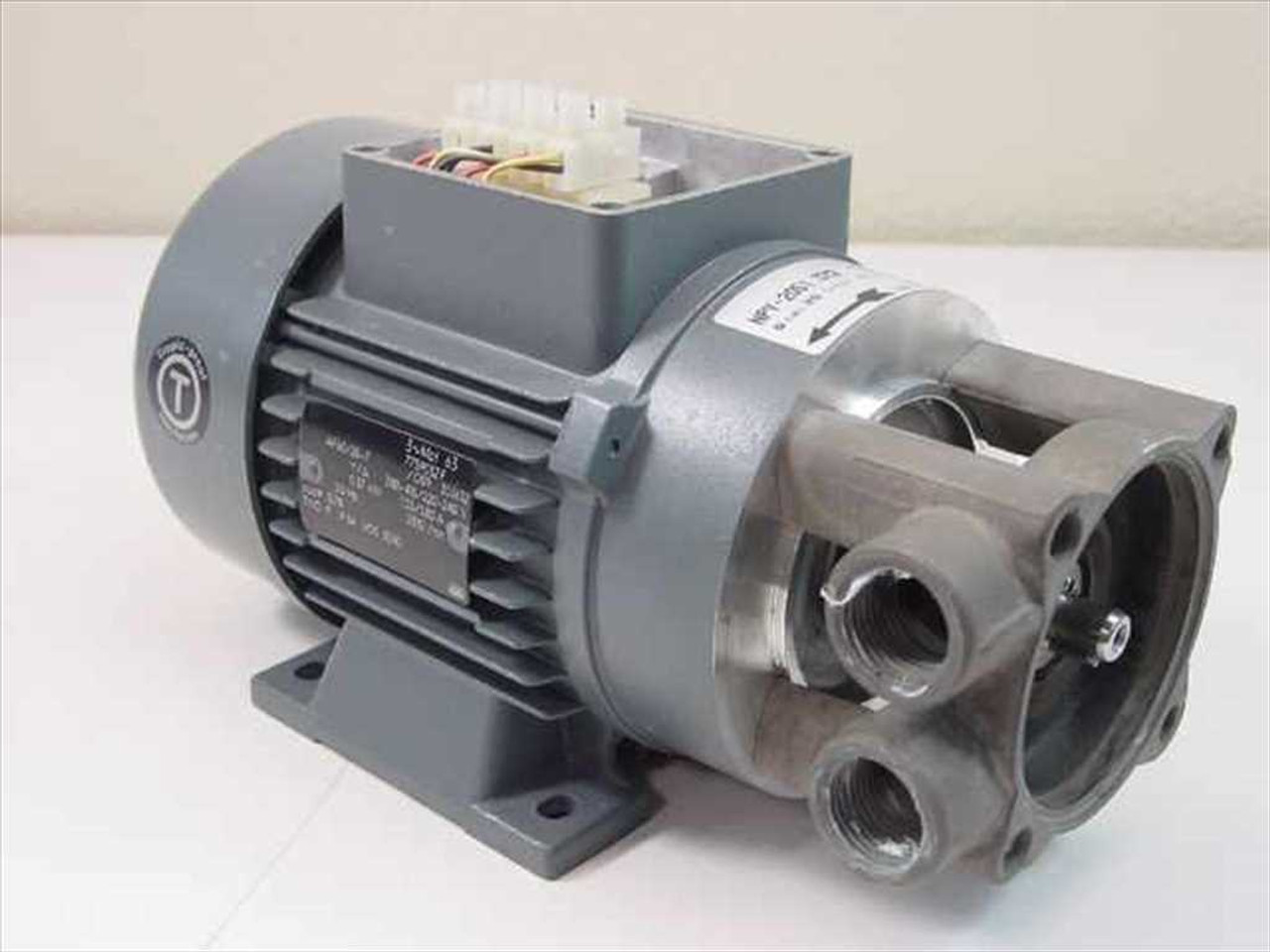 ATB AF63/2B-7 Motor Runs Well, Pump is for Parts (needs Repair ...