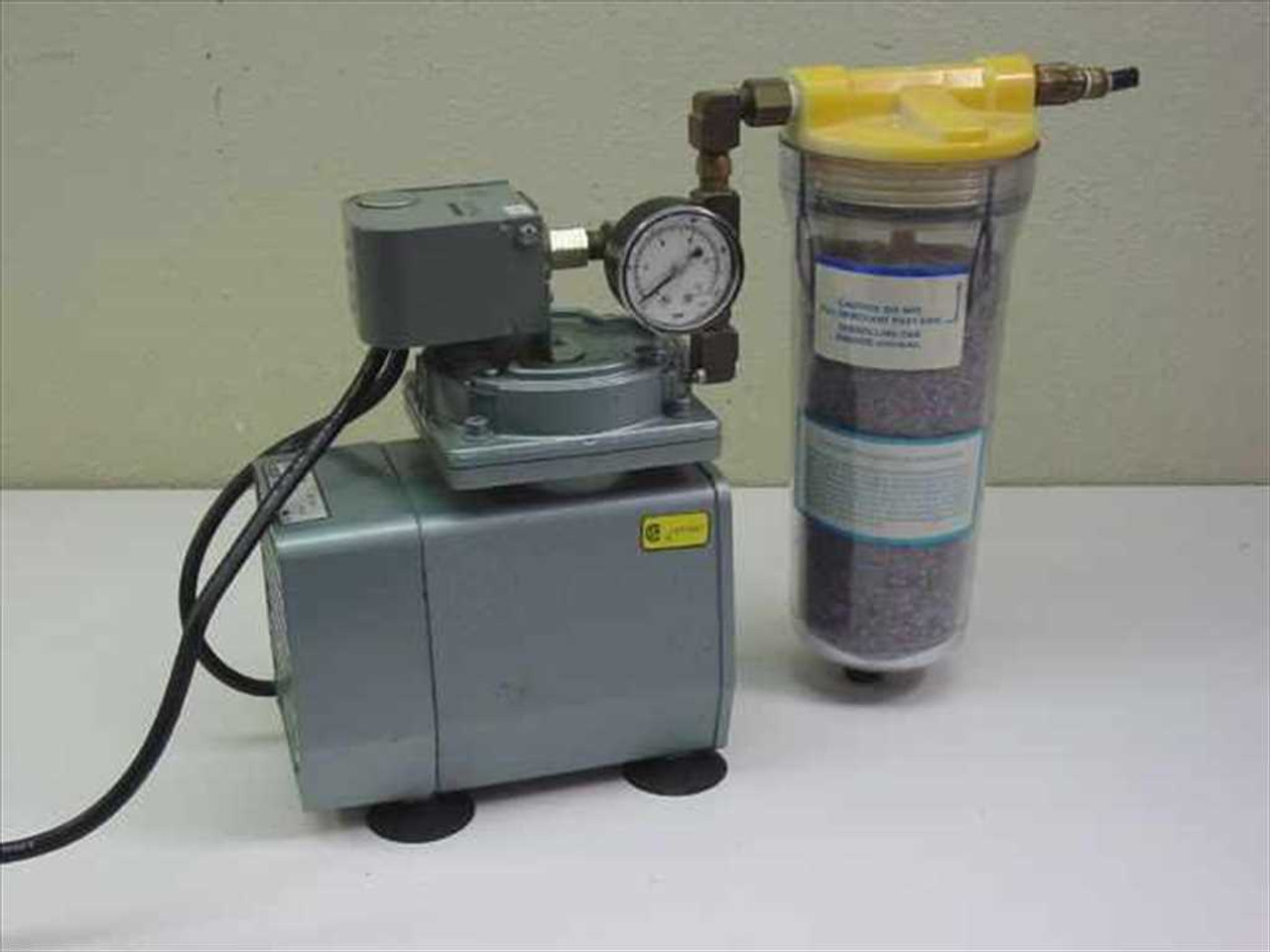 Gast Doa P126 Aa Vacuum Pump With Manual Regeneration Air Dryer D Oilless Wire Diagram