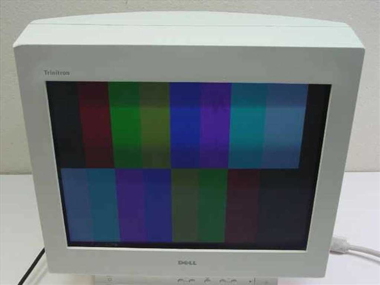"""... Dell P780 17"""" Flat Screen Monitor Ultra Scan White"""