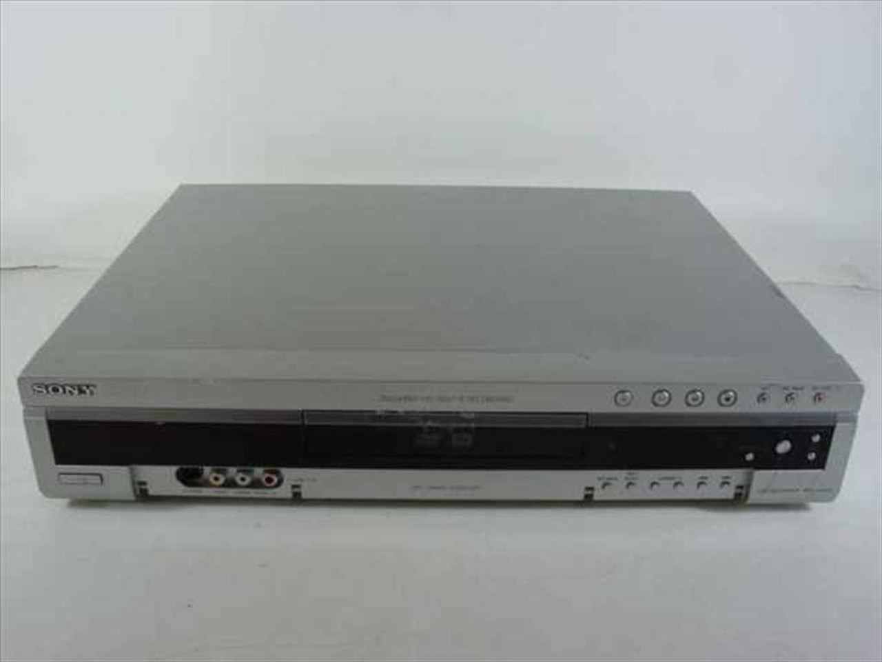 sony rdr gx300 dvd r rw recorder as is no power recycledgoods com rh recycledgoods com sony dvd recorder rdr gx300 instruction manual Sony RDR GX300 Firmware Upgrade