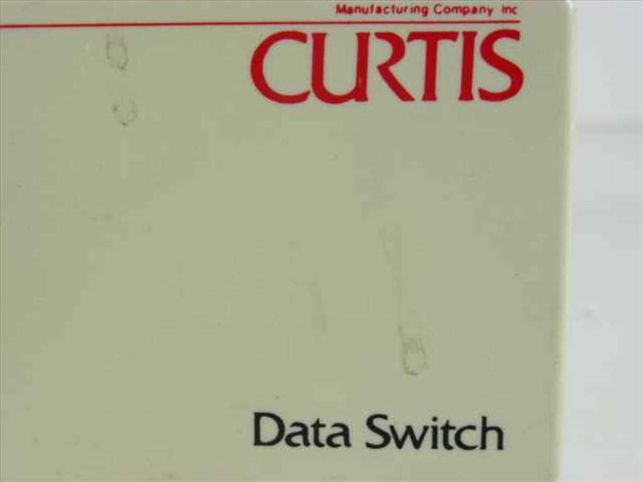 Curtis Ab Two Way Parallel Printer Data Switch 2