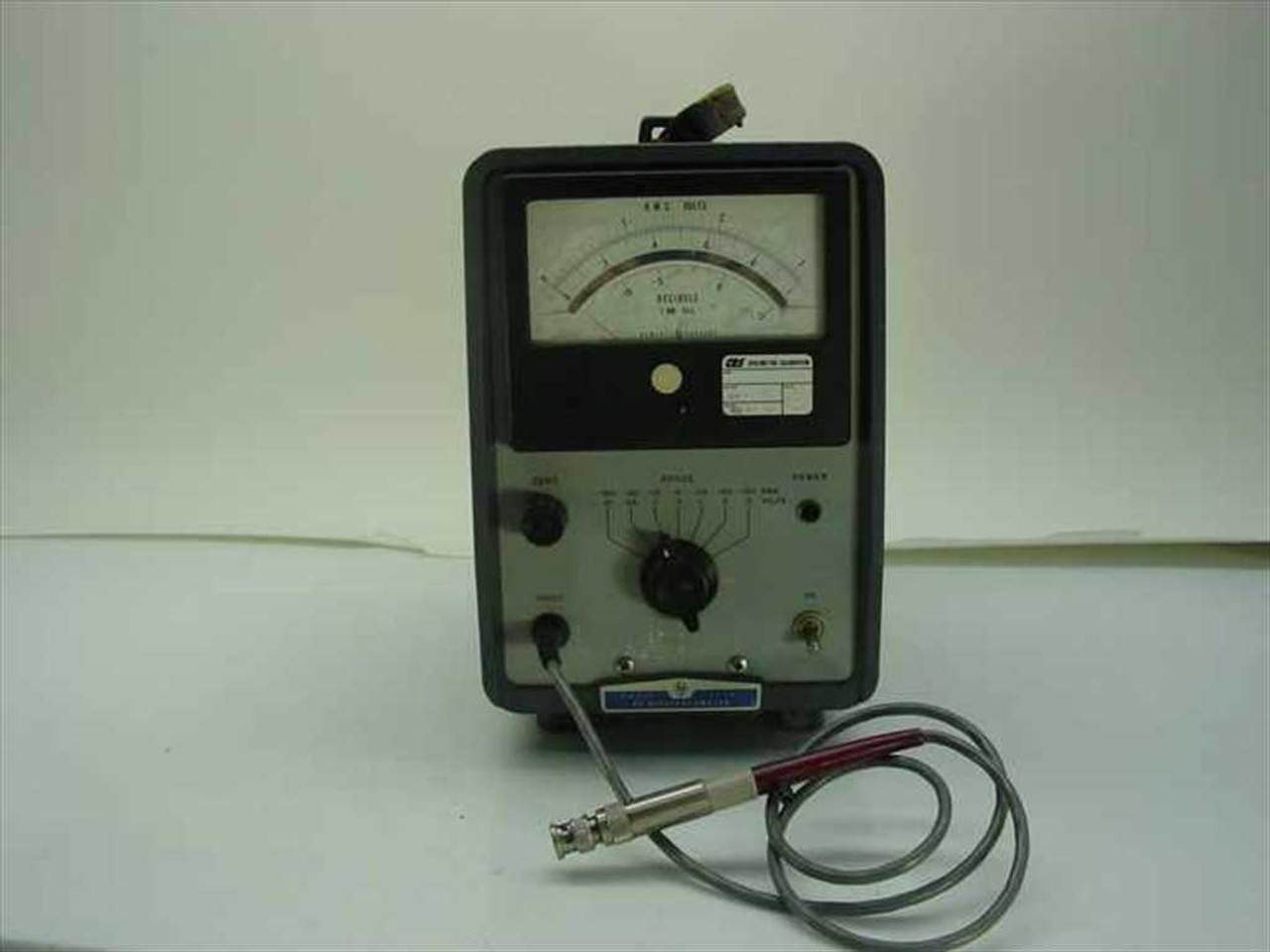 Hp 411a Rf Millivoltmeter As Is