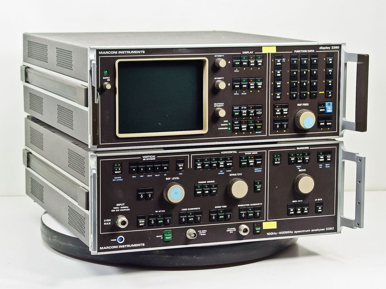 Marconi 2380 / 2382 400MHz Spectrum Analyzer with TG ...