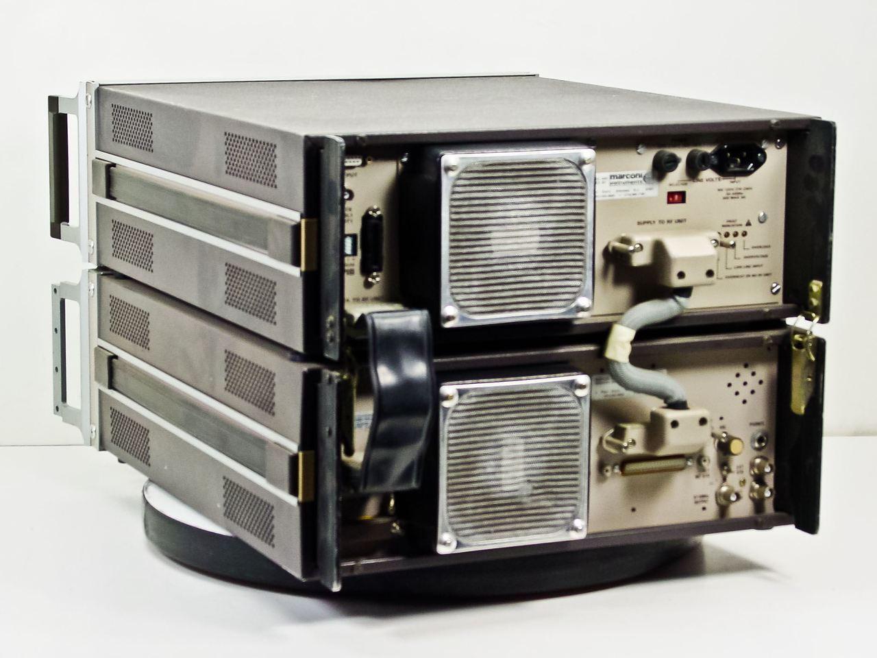 ... Marconi 2380 / 2382 400MHz Spectrum Analyzer with TG ...