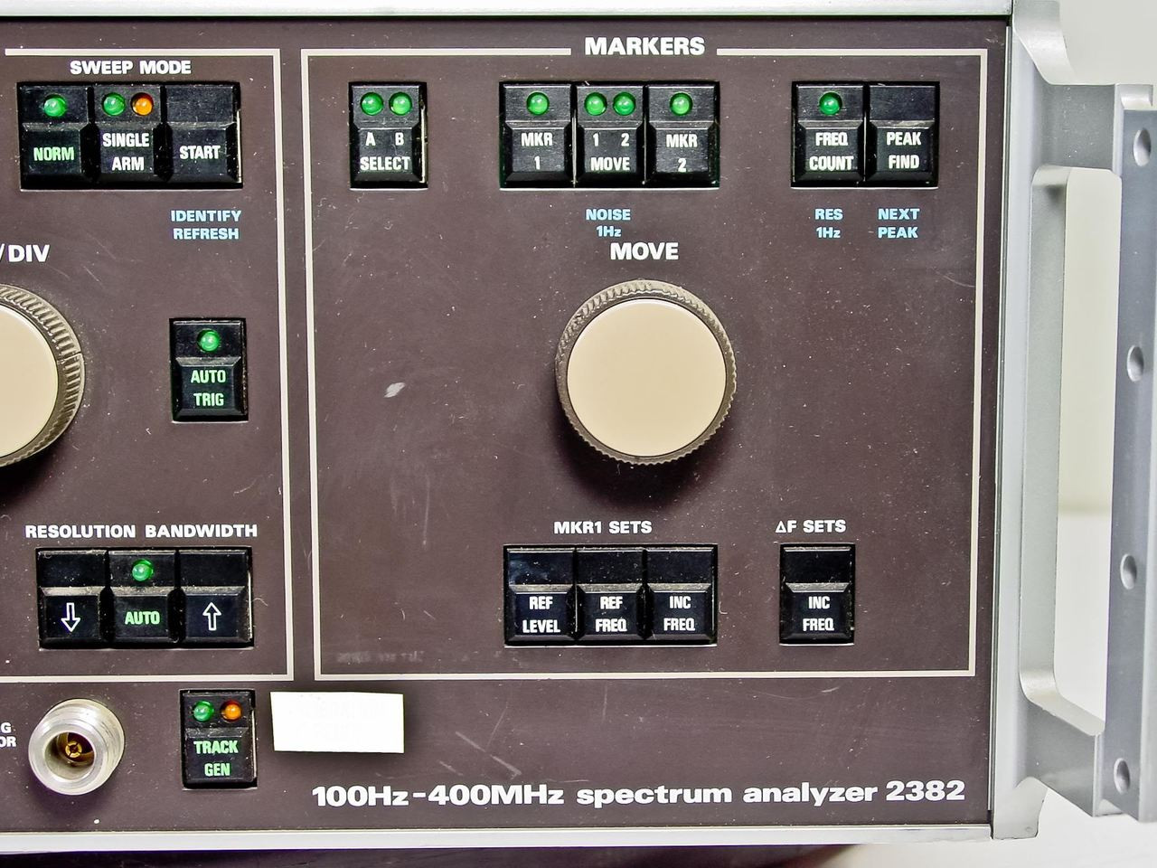 ... Marconi 2380 / 2382 400MHz Spectrum Analyzer with TG ...