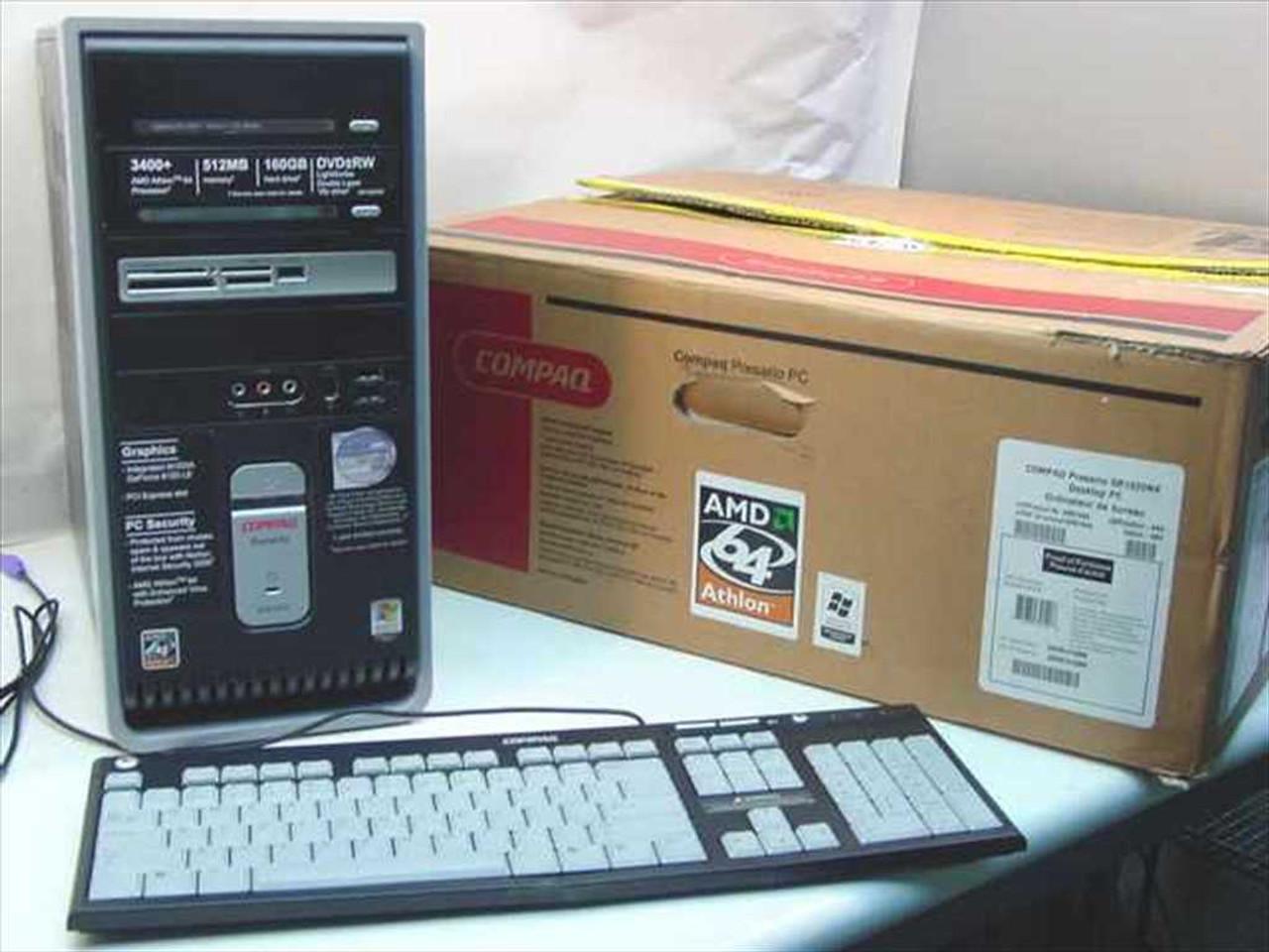 Compaq Presario SR1820NX Desktop PC Product Specifications