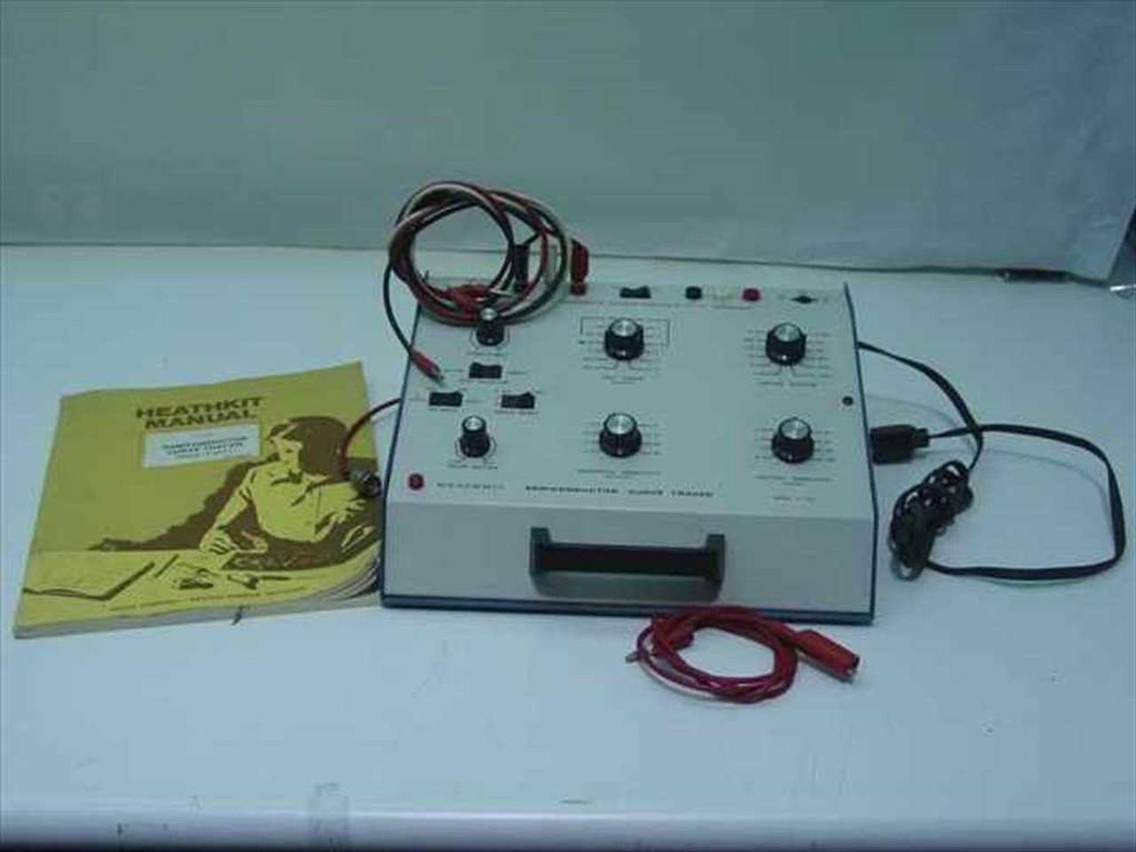 Heathkit It 3121 Semiconductor Curve Tracer Circuit Oscilloscope