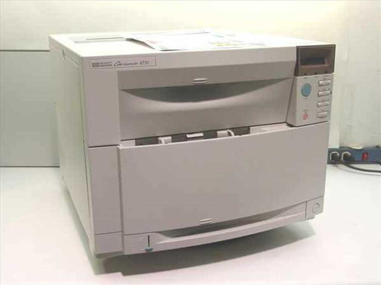 HP C7085A Color LaserJet 4550 Printer - As Is ...