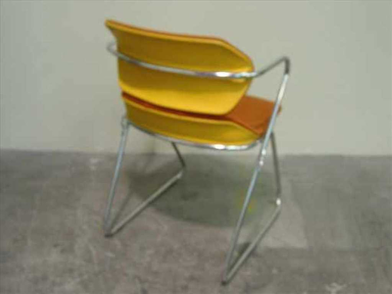 American Seating Acton Stacker Chairs Lot Of 5 Chairs
