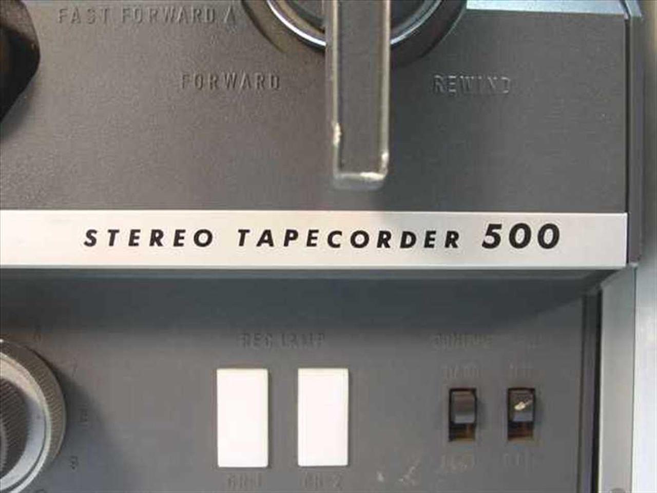 "... Sony TC-500 1/4"" Reel to Reel Tapecorder ..."