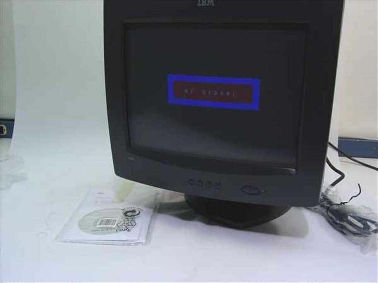 "... IBM 6331-47N 15"" SVGA E54 Monitor .28DP - Black 22P7924 ..."