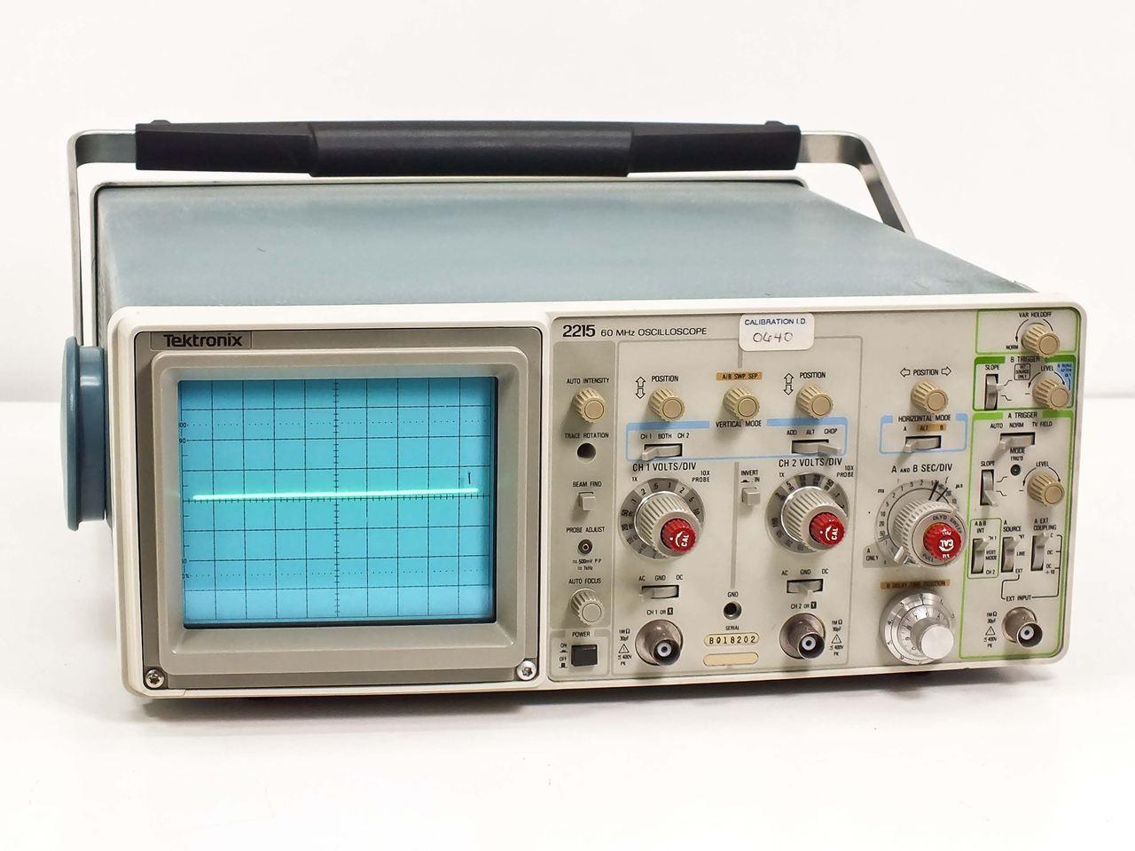 Tektronix 2215 60MHz Oscilloscope ...