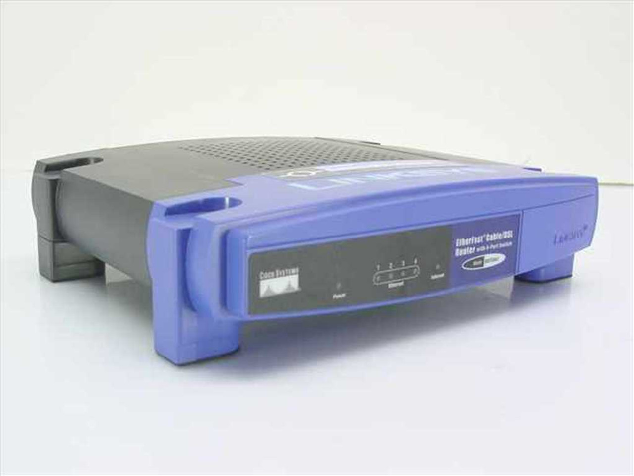 Linksys Etherfast Cable/DSL Router with 4-Port Switch (BEFSR41 v3) ...