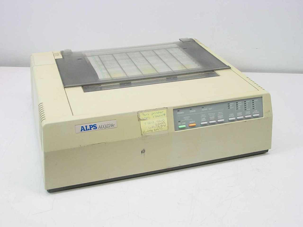 Alps ALQ224e Dot Matrix Printer