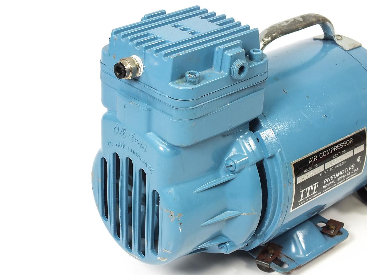ITT 160203P LGH-106 Air Compressor 1/12 HP 115 VAC 1.2 CFM ...
