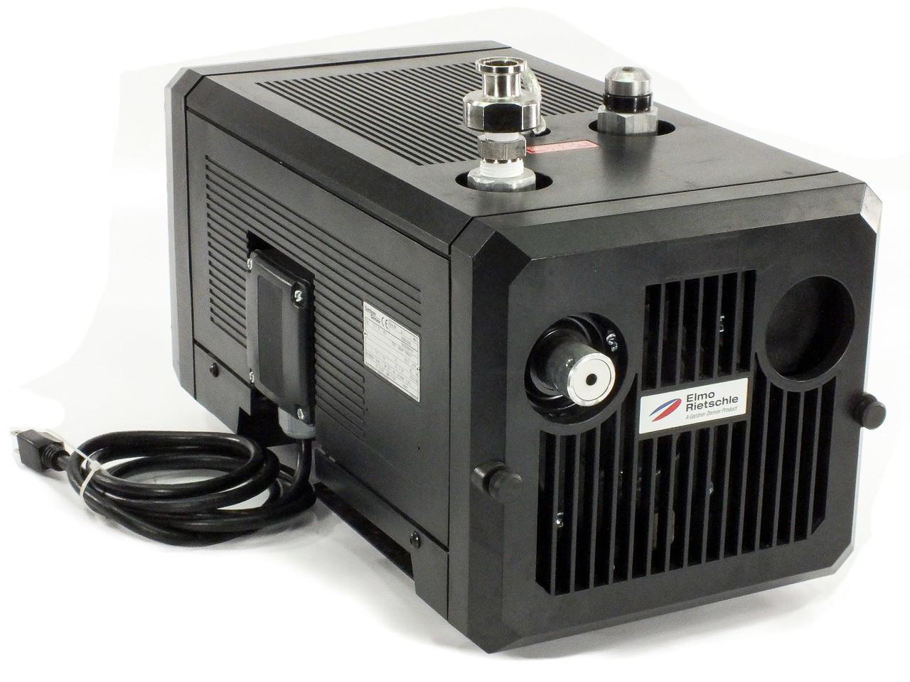 Elmo Rietschle Vlt 15 01 Gardner Denver Vacuum Pump 115 Volt 1 Gast Oilless Wire Diagram Phase 205 M