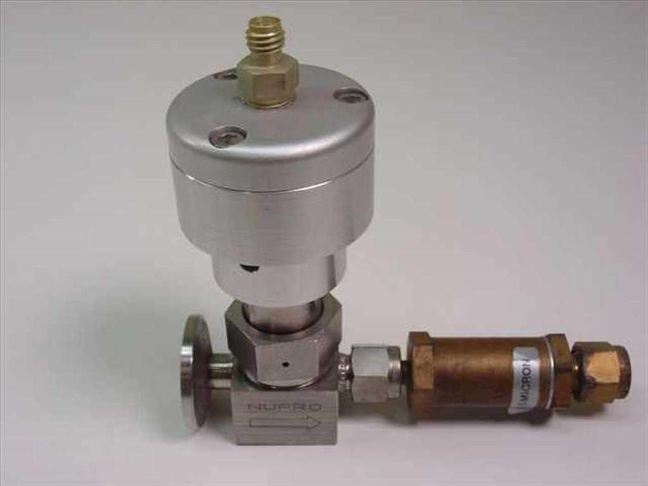 Swagelok ss bk stainless bellows valve in tube